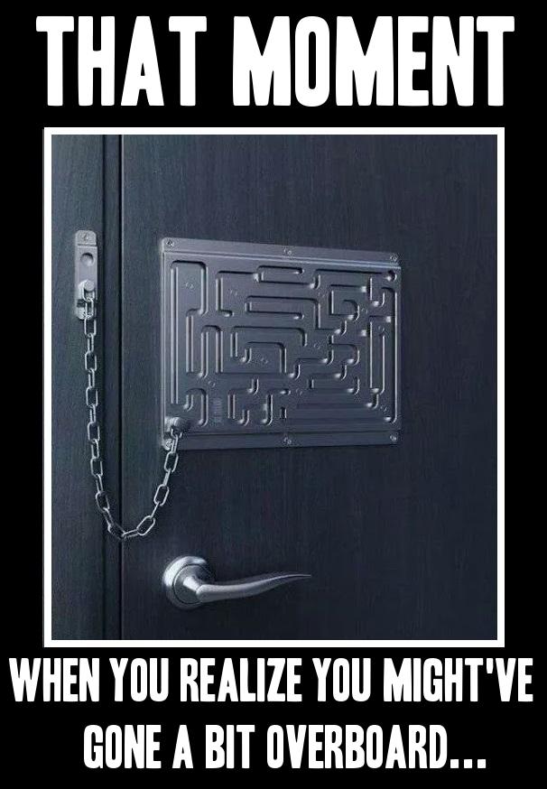 Extreme chain lock